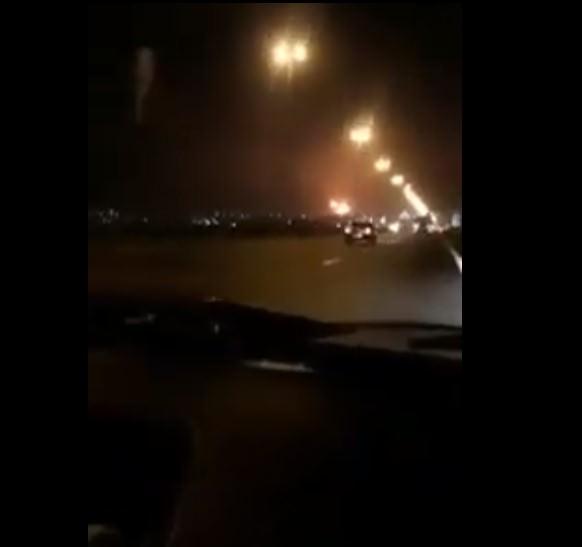 Появилось новое видео крушения украинского самолета в Иране