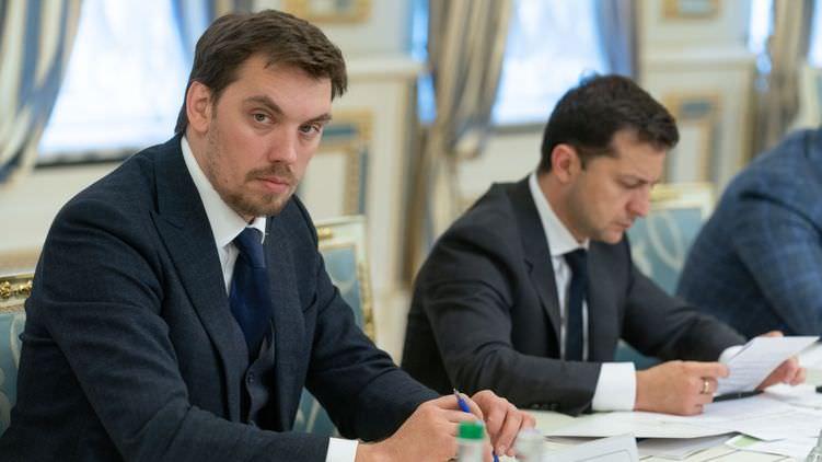 Премьер-министр Украины Гончарук подал в отставку из уважения к Зеленскому