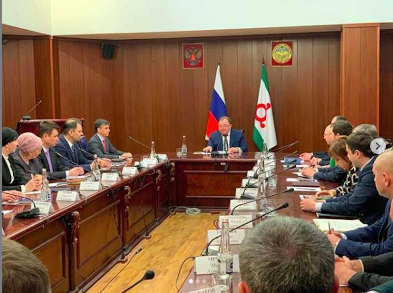 Глава Ингушетии неожиданно отправил все правительство в отставку