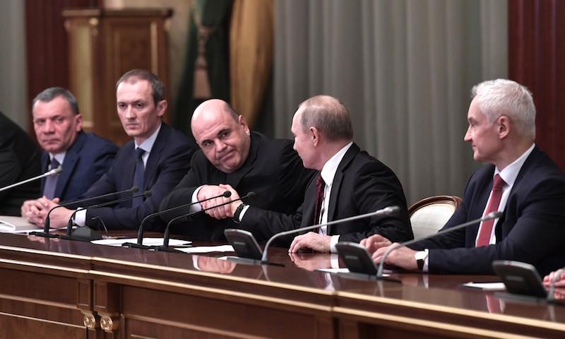 Михаил Мишустин дал первые поручения новому правительству