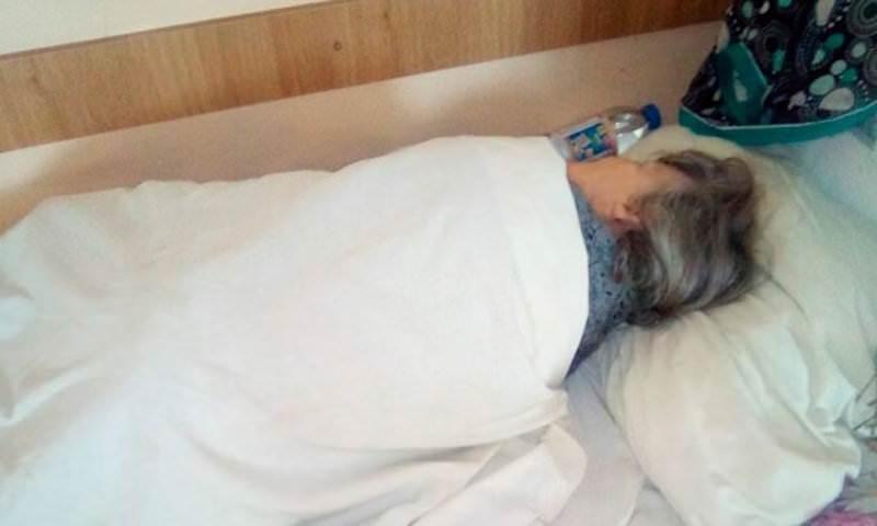 В Курске ветеран ВОВ в 94 года оказалась на полу больницы без помощи врачей