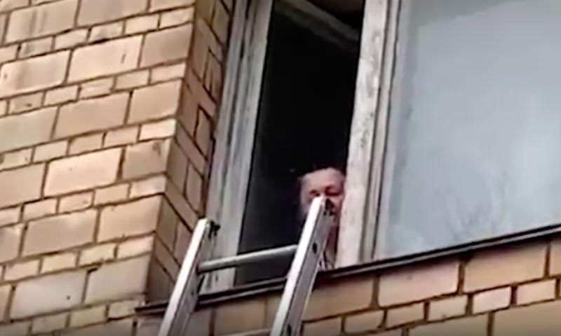 В Москве спасли ребенка, которого прабабушка обещала выбросить в окно