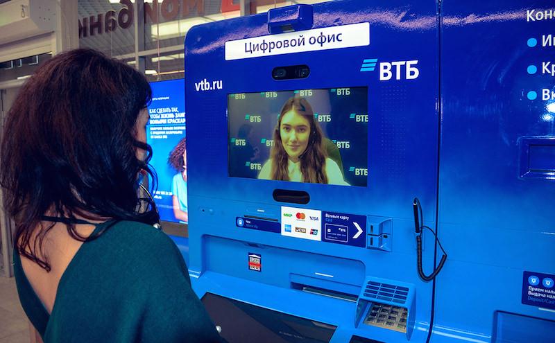 ВТБ установил первые видеобанкоматы в России