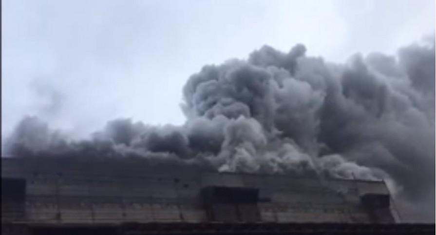 Столб черного дыма над Новочеркасской ГРЭС напугал жителей города