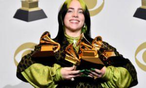 Билли Айлиш победила во всех основных номинациях «Грэмми-2020»