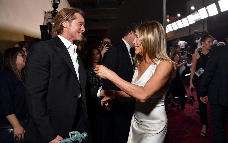 Брэд Питт пошутил над своим разводом: Энистон посмеялась, а Джоли обиделась