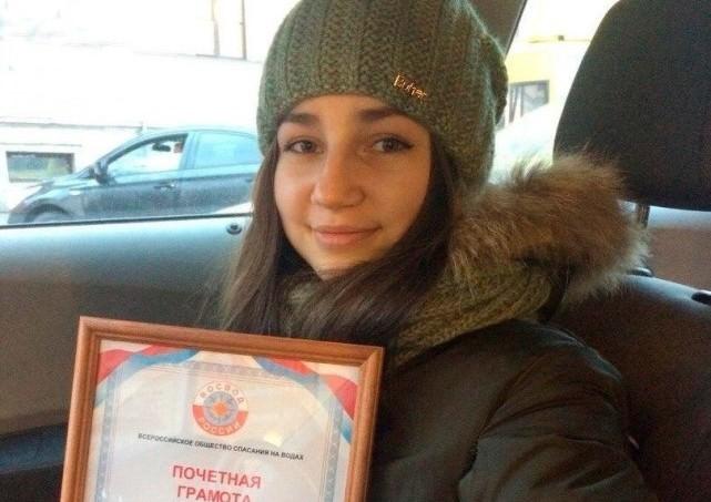 Школьница из Вышнего Волочка спасла тонущих детей в Петербурге