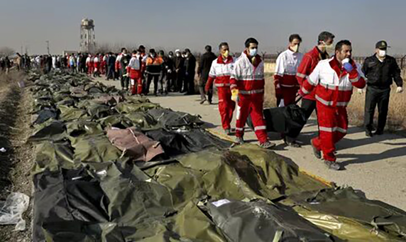 Newsweek: в Пентагоне считают,  что Иран случайно сбил украинский  «боинг» зенитной ракетой