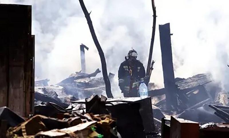 Жертвами пожара в Томской области стали 11 человек