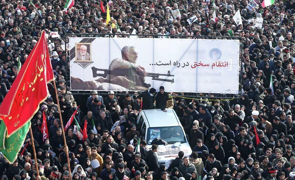 Иран перенес дату похорон генерала Сулеймани из-за полусотни погибших в давке
