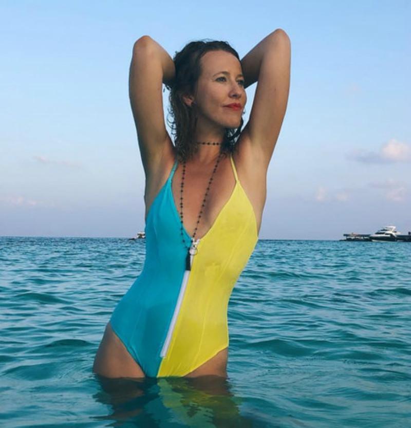 Ксения Собчак обратилась к пластическому хирургу