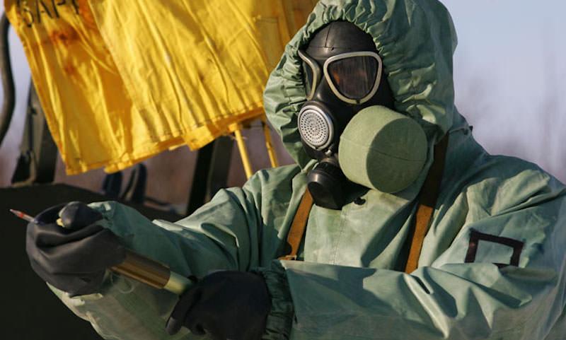 Опубликовано видео дезинфекции в городе Ухань, где идет война с коронавирусом