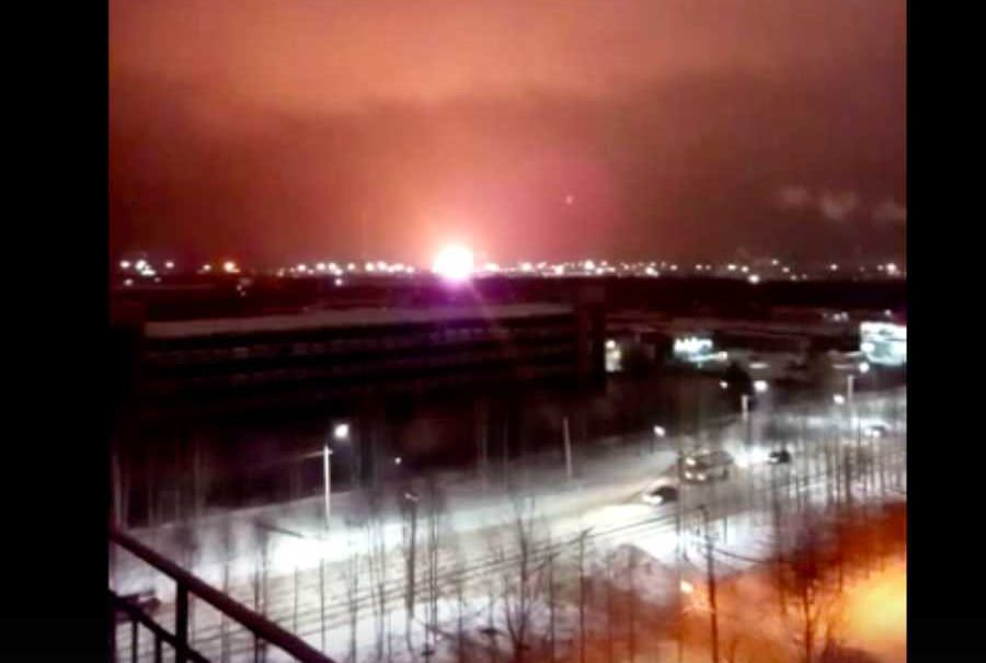 Нефтеперерабатывающий завод взорвался в Ухте