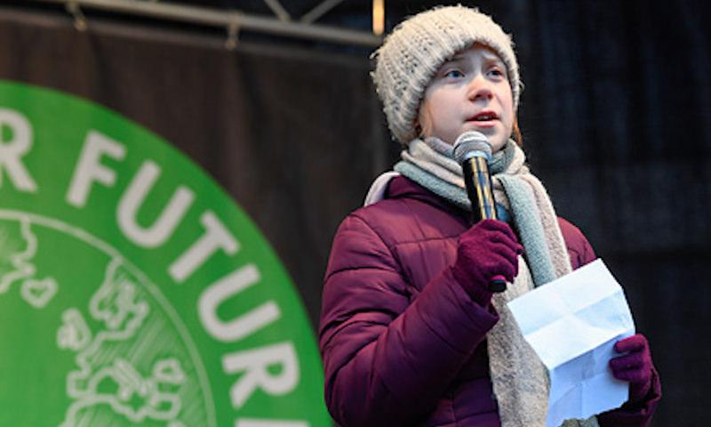 Грета Тунберг поддержала Красноярск в борьбе с «черным небом»