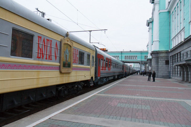 В России заказали поезд для «духовного возрождения» страны за 800 тысяч рублей