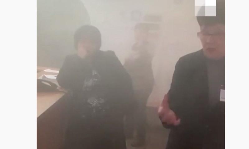 Российскую школу затопило кипятком прямо во время занятий