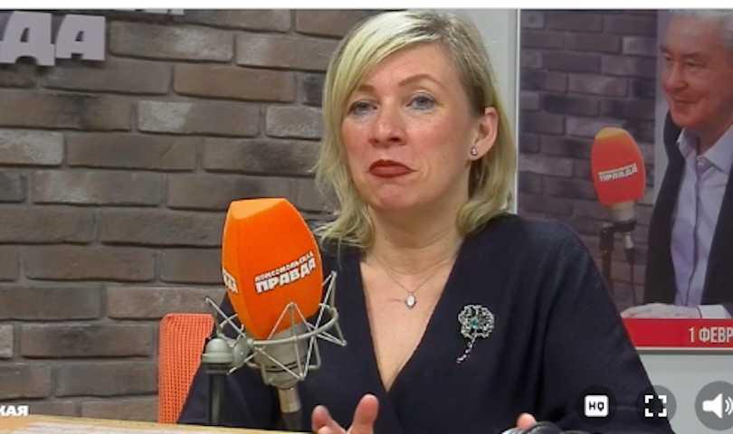 «Я не могу это смотреть»: Захарова объяснила, почему не хочет встречаться с Собчак