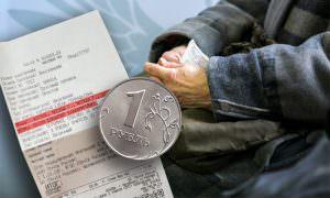 Российская пенсионерка отправила в Кремль 1 рубль прибавки к пенсии