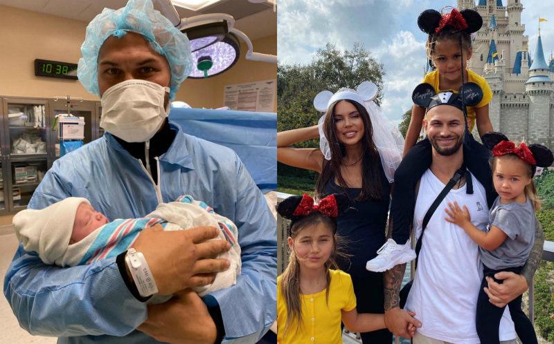 Джиган и Оксана Самойлова стали родителями в четвертый раз