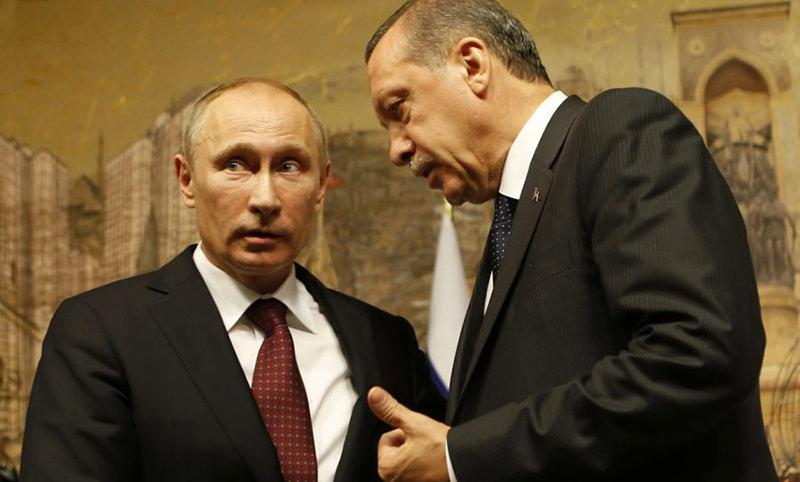 Эрдоган попросил Путина уйти с его дороги в Сирии