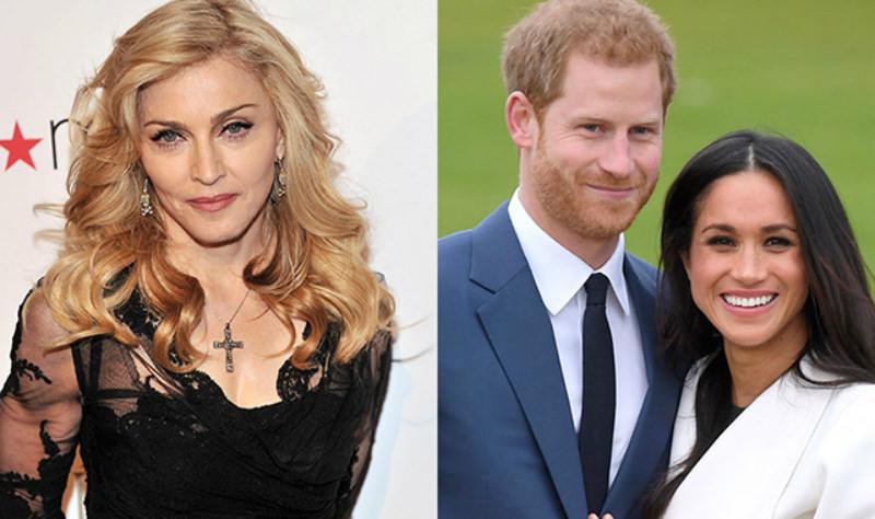 Мадонна вызвалась приютить лишившихся титулов принца Гарри и Меган Маркл