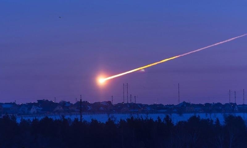 Календарь: 15 февраля - 7 лет «Челябинскому метеориту»