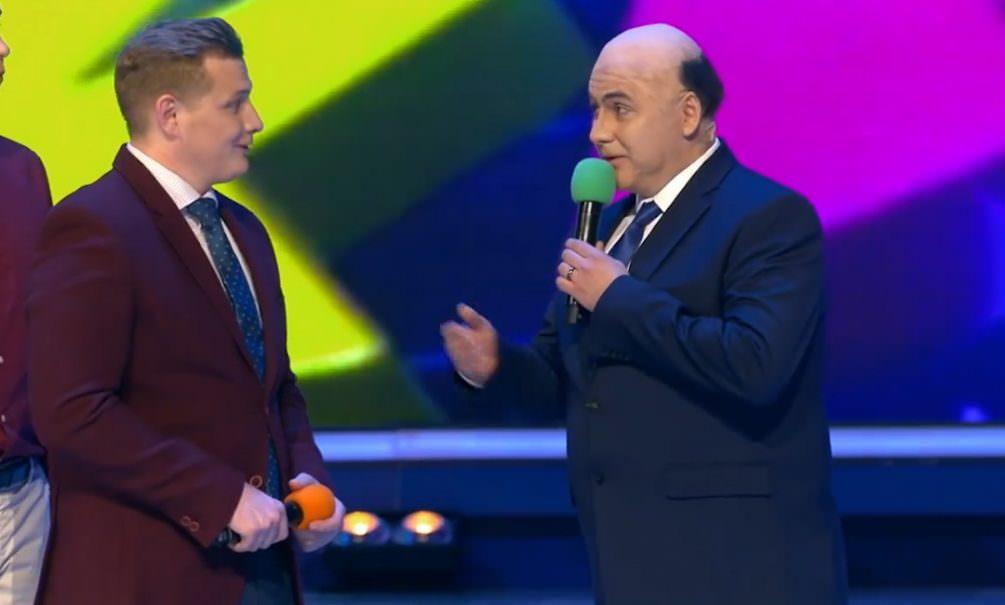 В КВН показали первую в России пародию на Мишустина