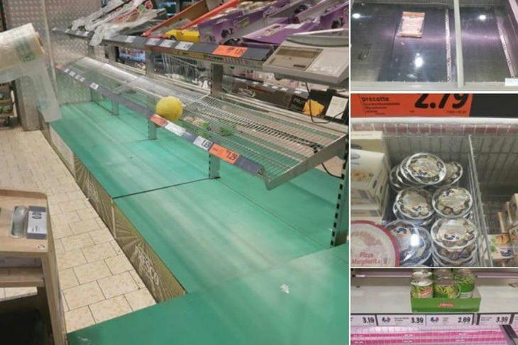 Паника в Италии: из-за коронавируса скупают маски по 70 евро и сметают продукты с полок
