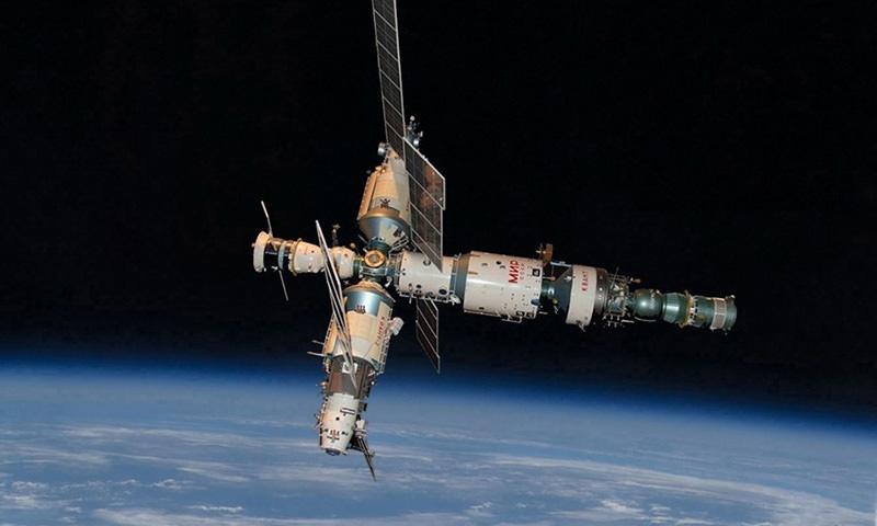 Календарь: 23 марта - Космическая станция