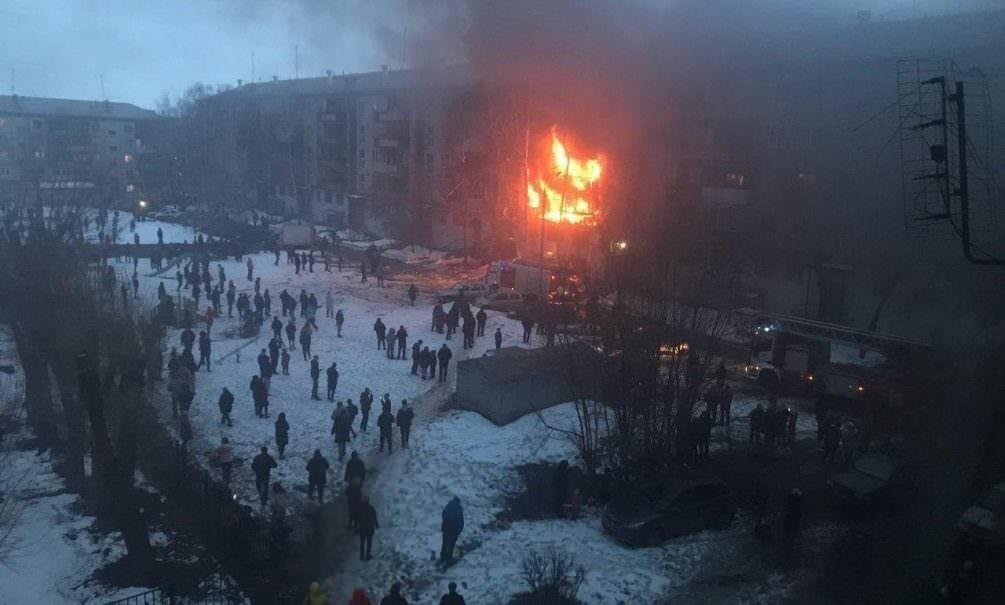 В Магнитогорске произошел взрыв газа в жилом доме