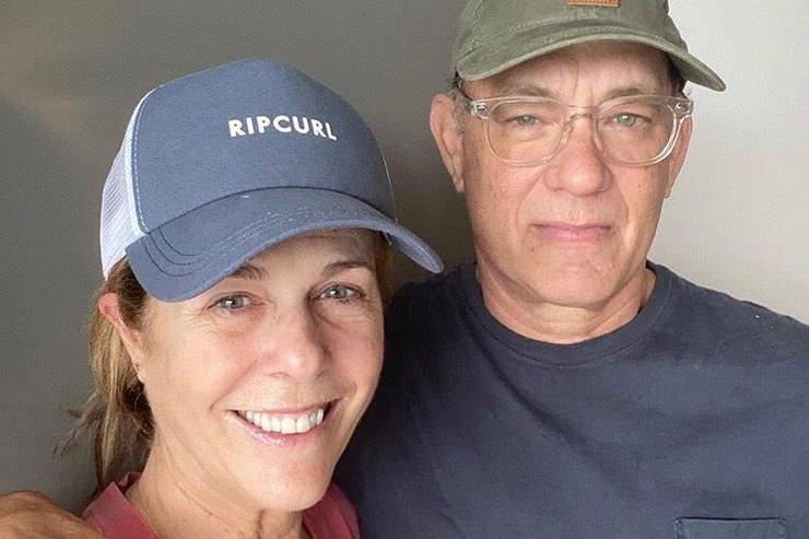 Зараженные коронавирусом Том Хэнкс и его жена пошли на поправку