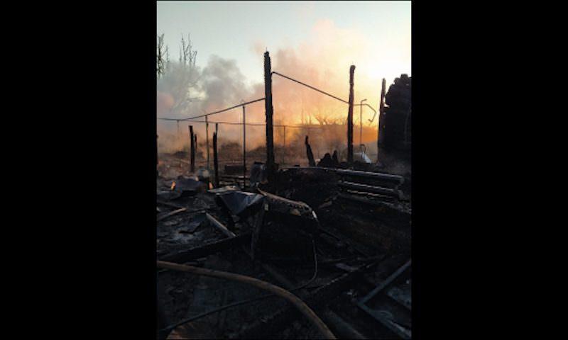 При пожаре в Пензенской области погибли семь человек, в том числе трое детей