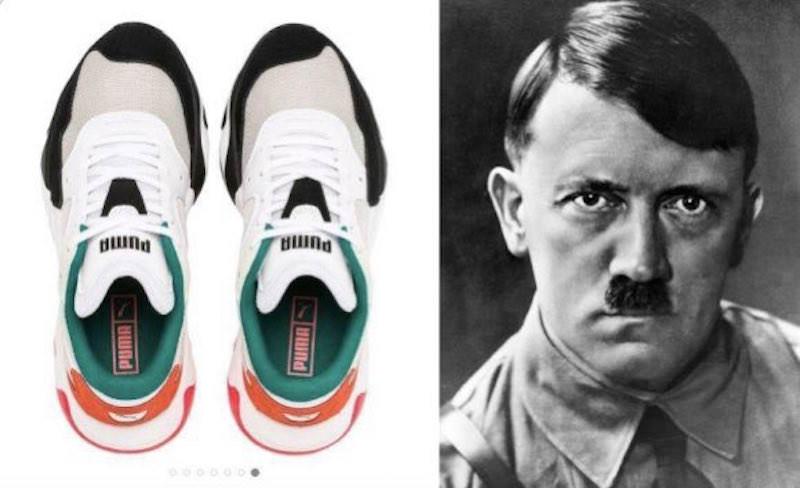 Новая модель кроссовок Puma шокировала похожестью на Гитлера