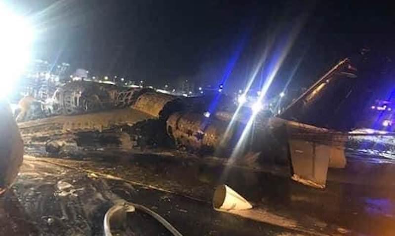На Филиппинах сгорел самолет с больным, которому срочно нужна была помощь