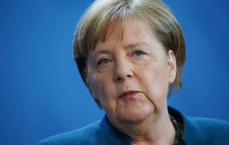 «Я не вижу людей»: Меркель пожаловалась на удалёнку