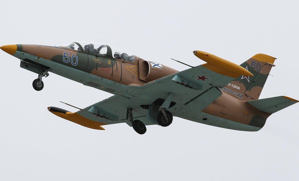 На Кубани во время учебного полета разбился военный Л-39
