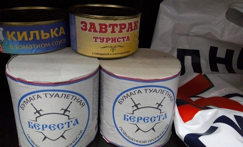 В России начался бум на консервы и туалетную бумагу