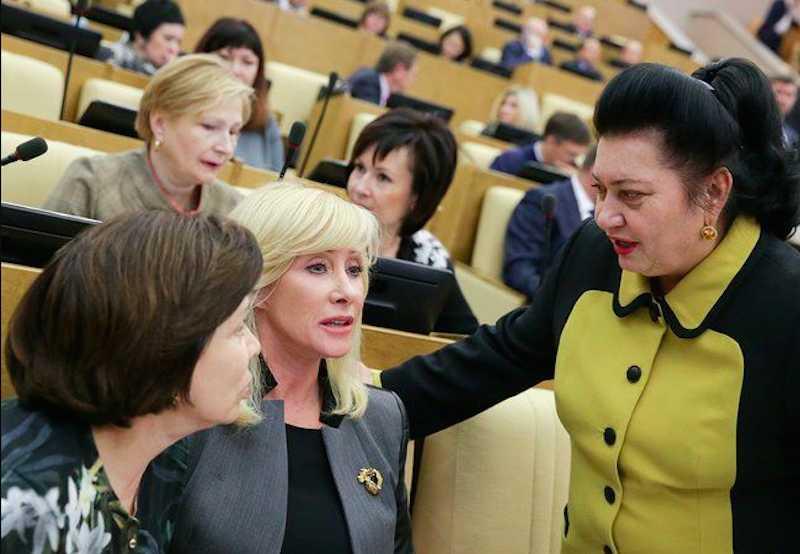 Россияне оказались не готовы к женщине-президенту