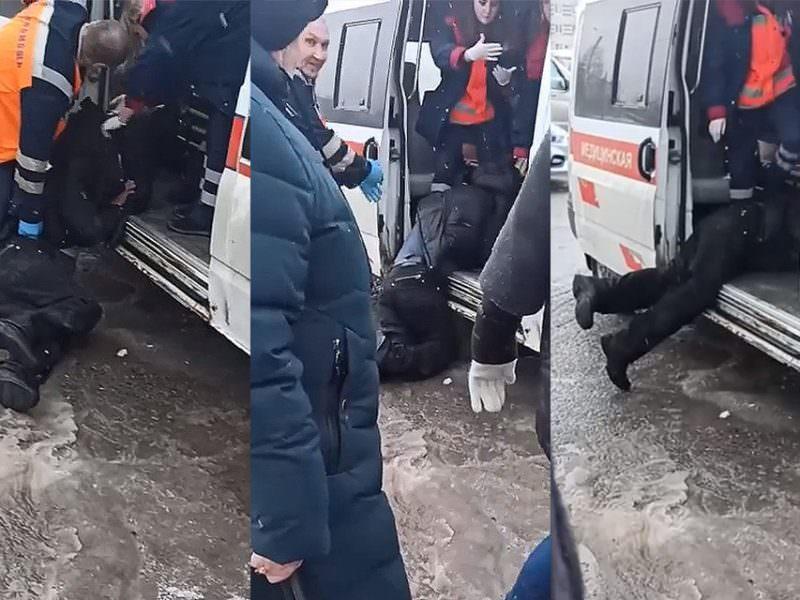 В Пермском крае главврача скорой уволили из-за медиков, которые волокли пациента по грязи