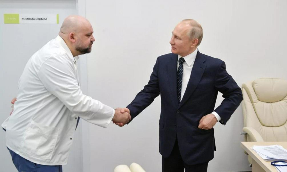 Общавшийся с Путиным главврач Коммунарки заболел коронавирусом