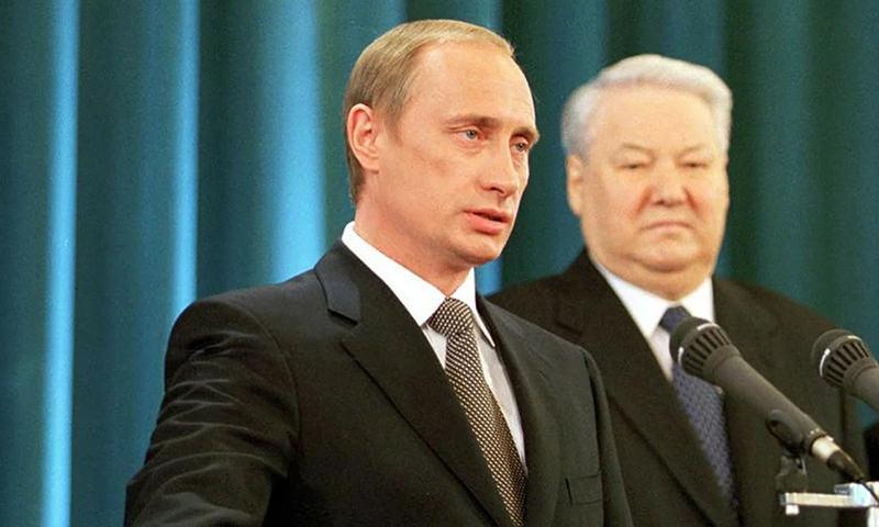 Календарь: 26 марта - 20 лет назад Путин впервые стал президентом