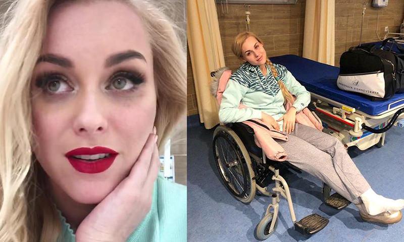 «Летела три с лишним метра»: певица упала со сцены и допела для губернатора хит Пугачевой с переломом ноги