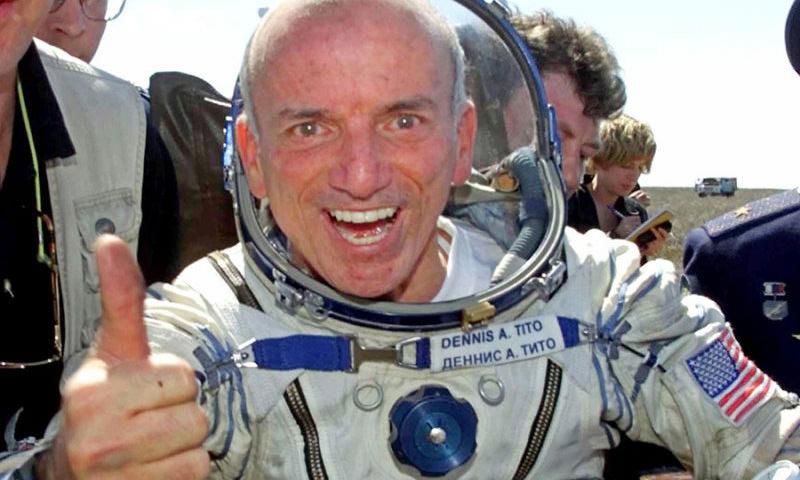 Календарь: 28 апреля - День полета в космос первого туриста