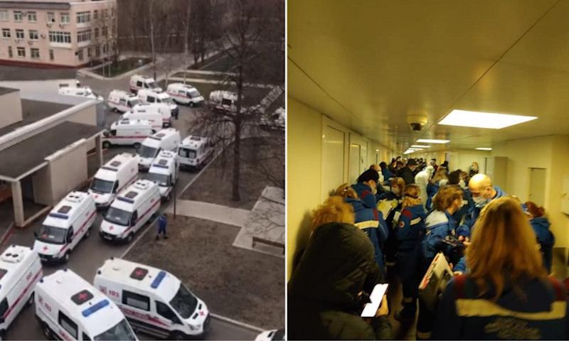 Больницы в Москве: «Если бы вы это видели, вы бы боялись дышать даже в форточку»