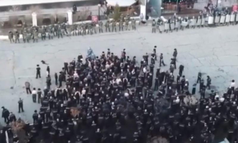 Опубликовано видео последствий бунта и пожара в ангарской колонии