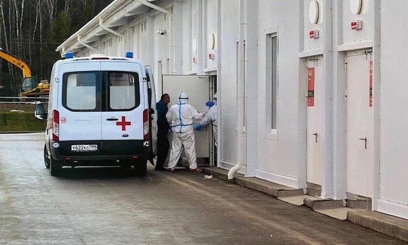 Главврач московской больницы показал, что будет при несоблюдении режима изоляции
