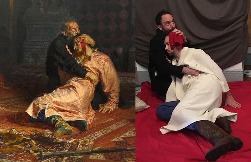 Антихандрический подход: любители живописи пошутили над классиками