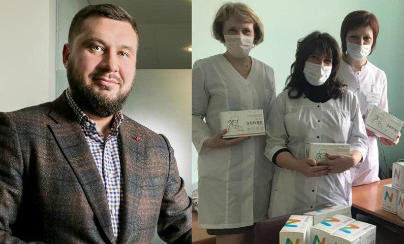 Тонна дезсредства и 15 тысяч масок: владелец «Цветочного ряда» помог больницам Москвы