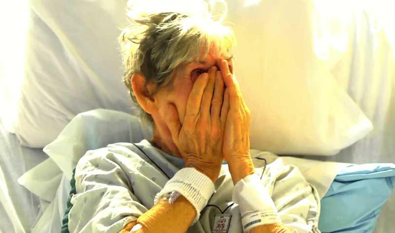 Семья бросила 96-летнюю бабушку в больнице, опасаясь коронавируса
