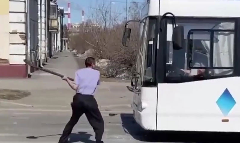 Дон Кихот из Кемерово: пьяный